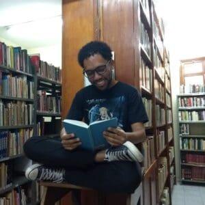 Marcos na Biblioteca Municipal Centenário em Poços de Caldas